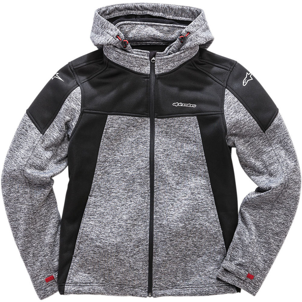 ALPINESTARS STRATIFIED HOODED JACKET CHARCOAL