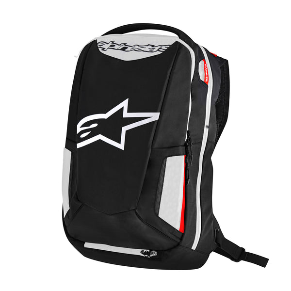 ALPINESTARS CITY HUNTER BACKPACK BLACK/WHITE/RED