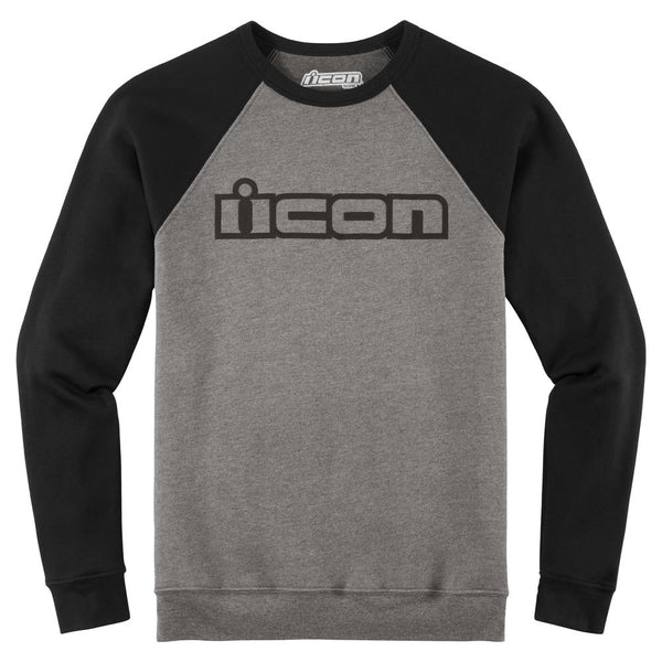 ICON OG™ CREW NECK SWEATSHIRT GRAY