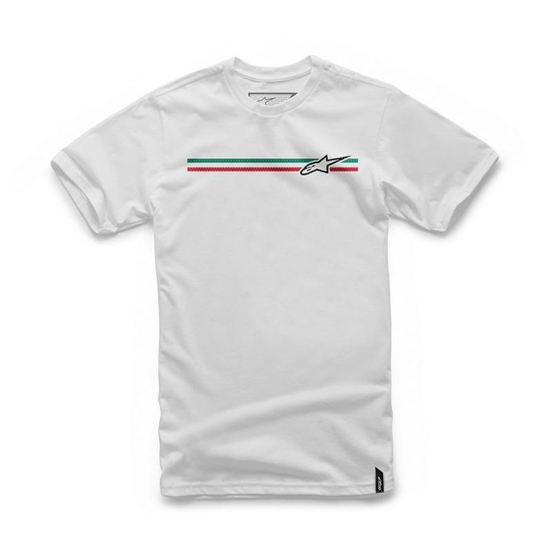 ALPINESTARS FINISH T-SHIRT WHITE