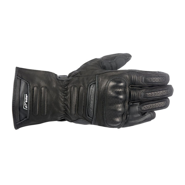 ALPINESTARS M-56 DRYSTAR® ALL-WEATHER LEATHER LONG GLOVES BLACK