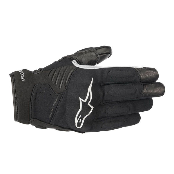 ALPINESTARS FASTER ROAD RIDING GLOVES BLACK/WHITE