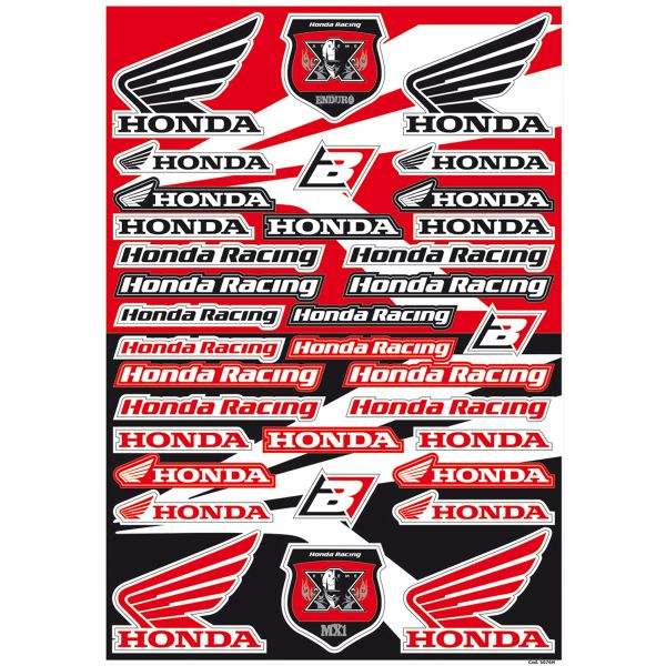 Blackbird Sticker Decal Logo Honda