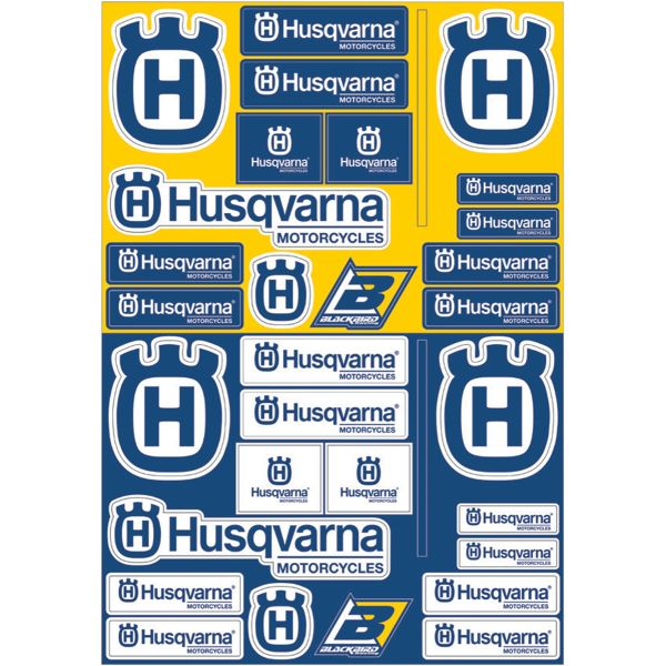 Blackbird Sticker Decal Logo Husqvarna