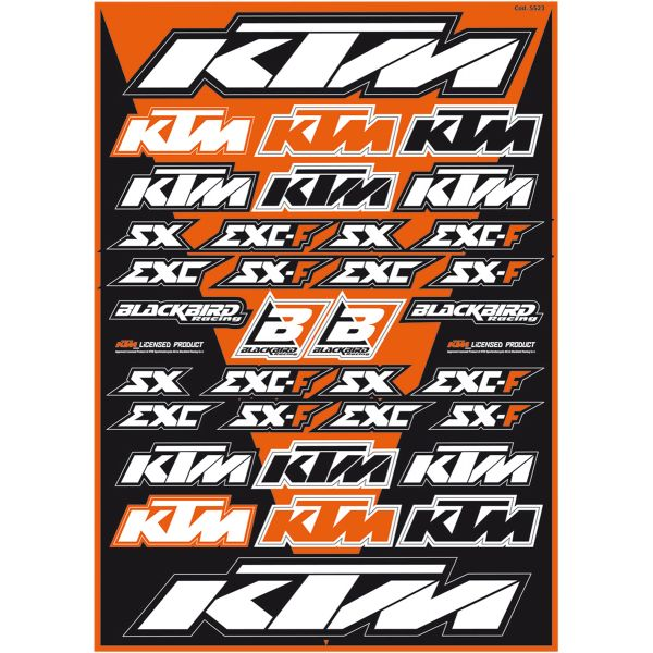 Blackbird Sticker Kit Universal KTM