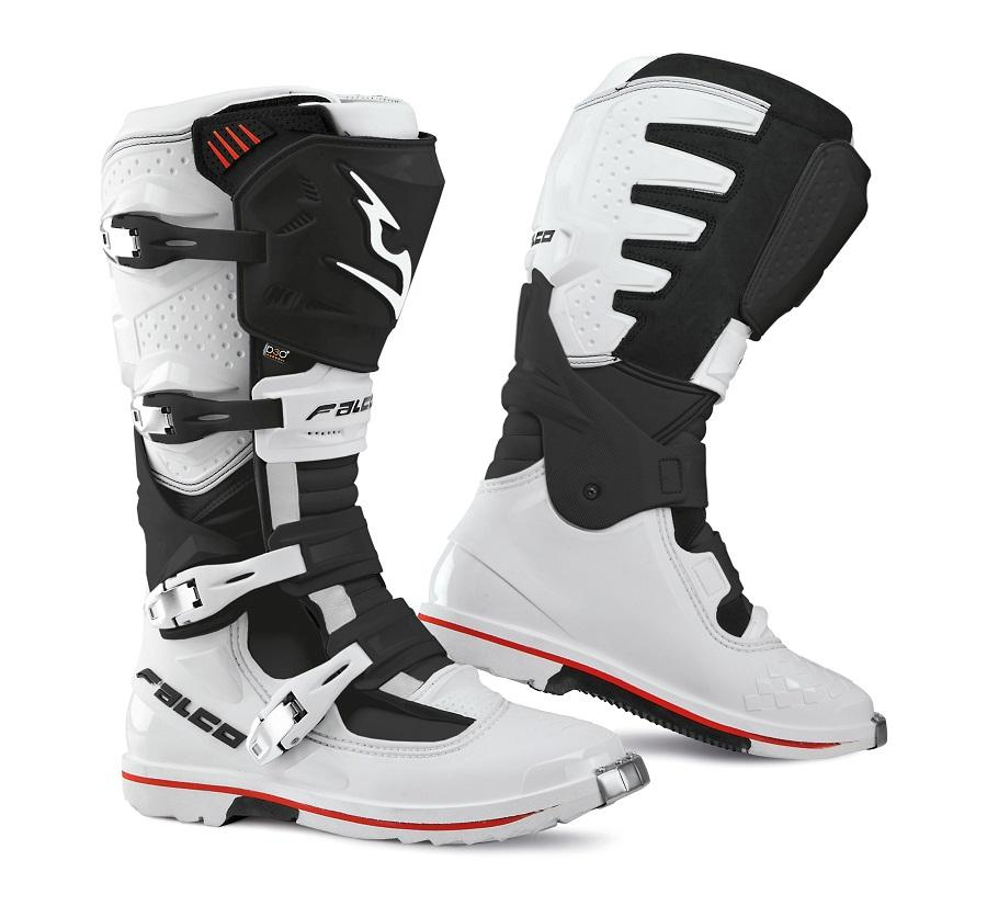 Cizme mx/enduro Falco Extreme Pro 3.1, WP, D3O®, White/Black