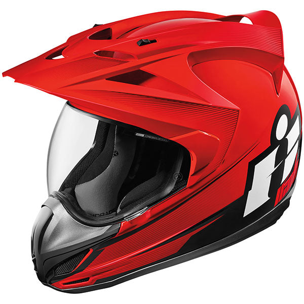 ICON VARIANT™ DOUBLE STACK™ HELMET RED