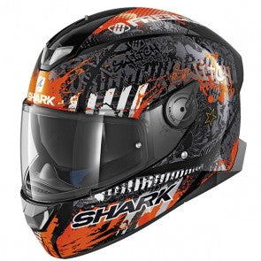Casca SHARK SKWAL 2 SWITCH RIDER ORANGE MODEL 2018