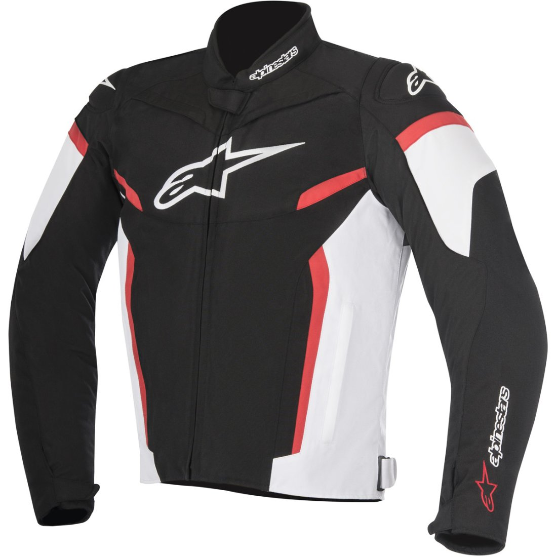 ALPINESTARS T-GP PLUS R V2 SPORT RIDING JACKET BLACK/WHITE/RED