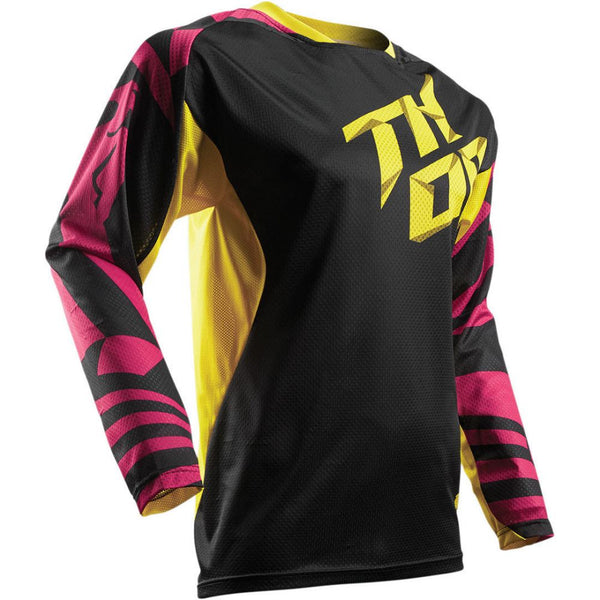 Thor Tricou Fuse Air Dazz S7 Magenta/Yellow Copii