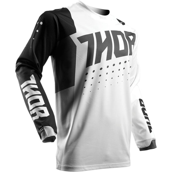 Thor Tricou Pulse Aktiv S7 White/Black Copii