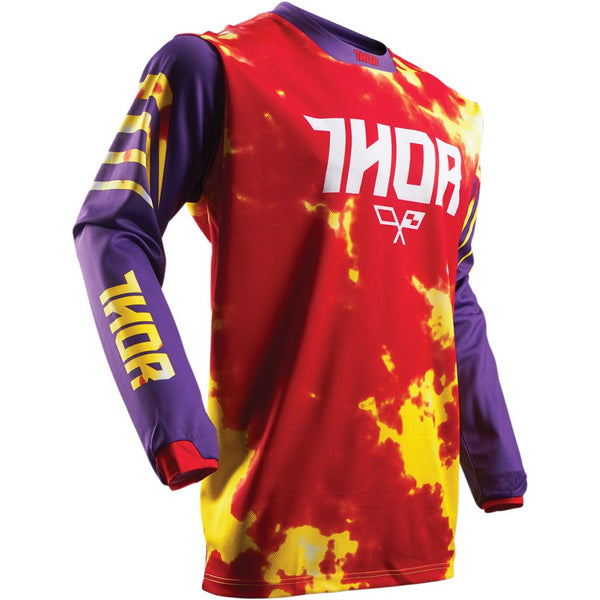 Thor Tricou Pulse TYDY S7 Purple/Fire Copii