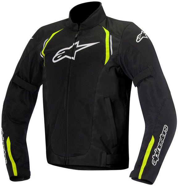 ALPINESTARS AST AIR SPORT RIDING JACKET BLACK/FLO YELLOW
