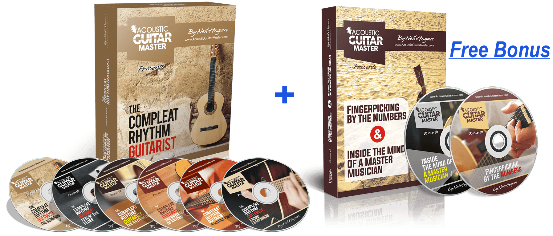 Acoustic Guitar Master Mega DVD Collection