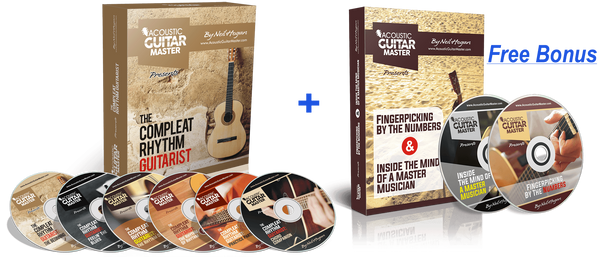 Acoustic Guitar Master Mega DVD Collection - Free bonus is out of stock