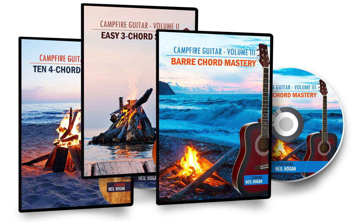 Campfire Guitar Series Collection - 3 Pack