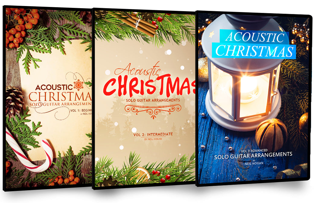 Acoustic Christmas Holiday Bundle - 3 Pack