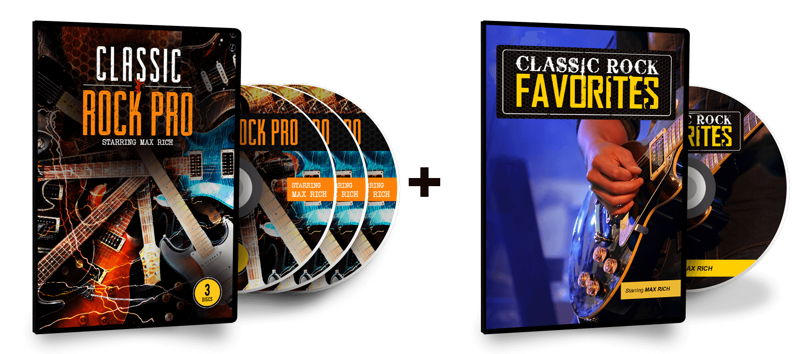 Classic Rock Pro - 3 Pack DVD Collection