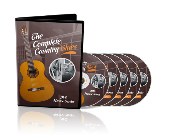 The Complete Country Blues Collection - 4 Disc Set