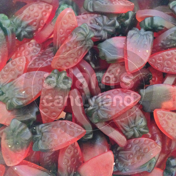 HALAL - Giant Sour Strawberries