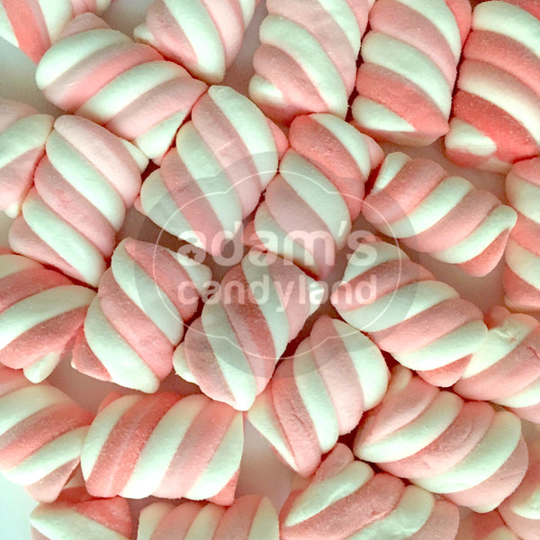 HALAL - Mini Strawberry Marshmallow Twists