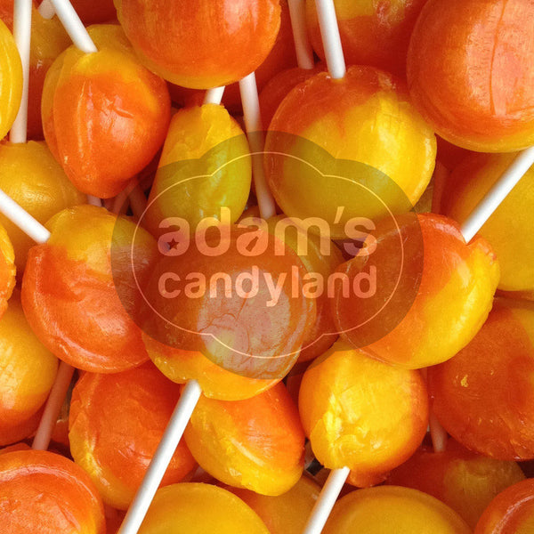 VEGETARIAN - Large Orange & Lemon Lolly