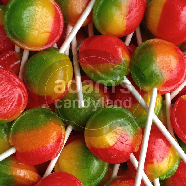 VEGETARIAN - Large Tropical Fruit Lolly Pop