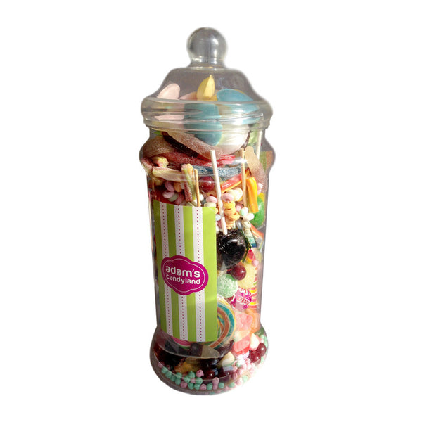 Vegetarian & Halal Pick 'n' Mix - Medium Victorian Jar