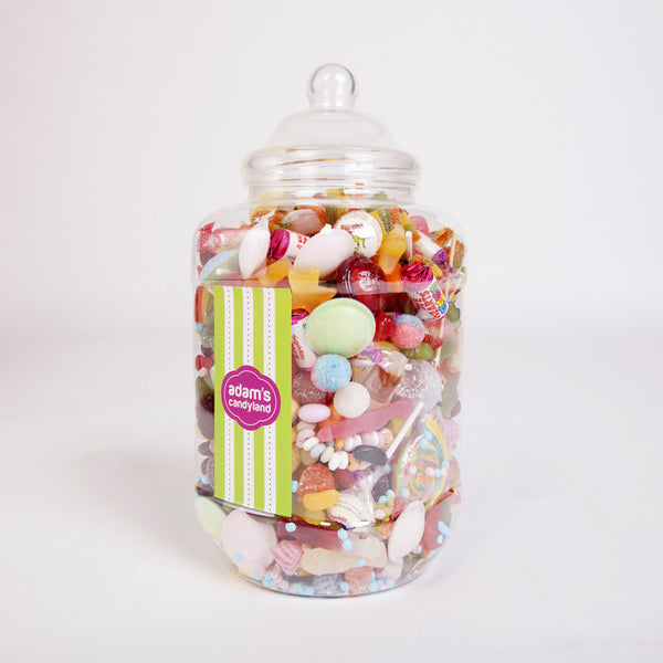 Vegetarian & Halal Pick 'n' Mix - XL Victorian Jar