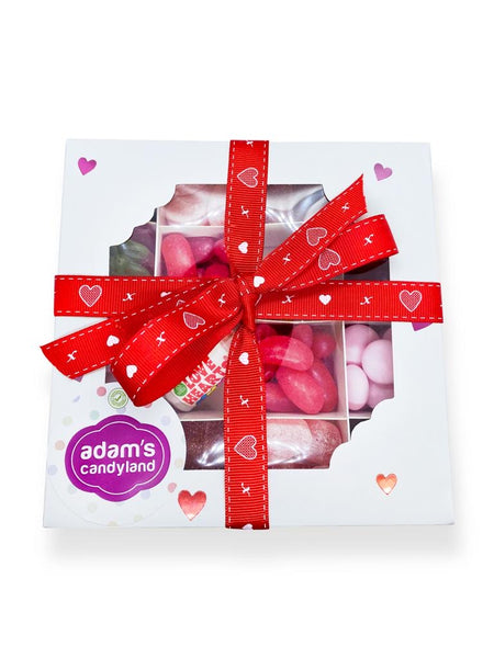 Vegetarian Valentines Day sweet box