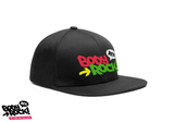 Body Rock ATX Black Snapback with Neon embroidery