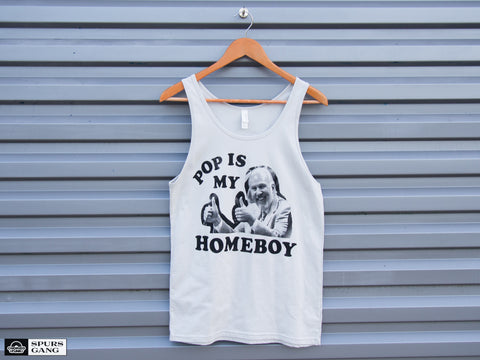 Pop Is My Homeboy-Unisex Tank
