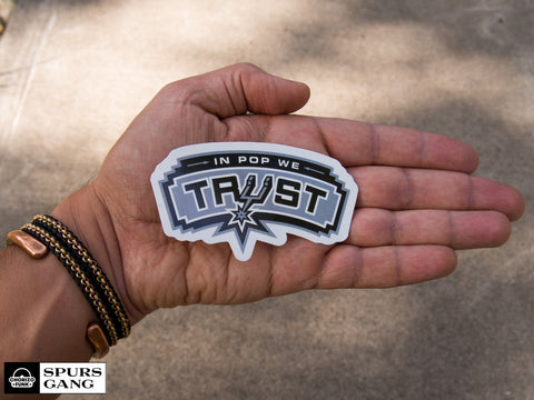 In Pop We Trust-Sticker