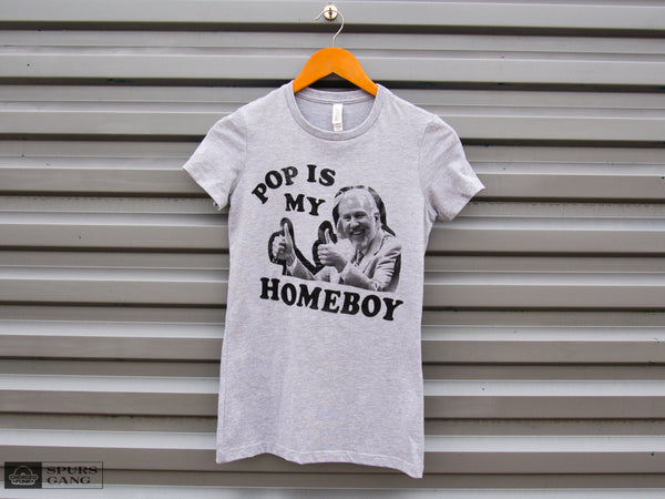 Pop Is My Homeboy-Ladies Tee