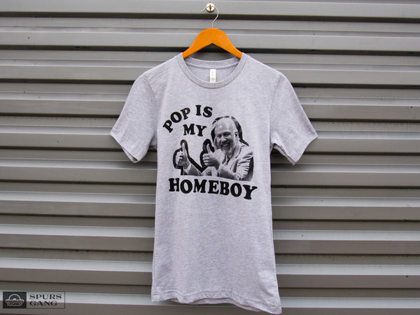 Pop Is My Homeboy-Unisex Tee