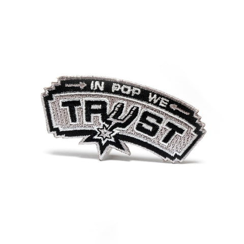 In Pop We Trust-Embroided Patch