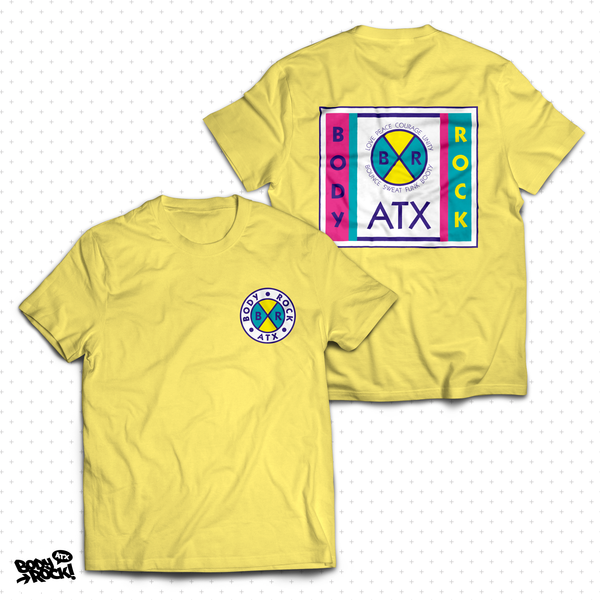 Body Rock ATX: Cross Colors Unisex Tee (Yellow)