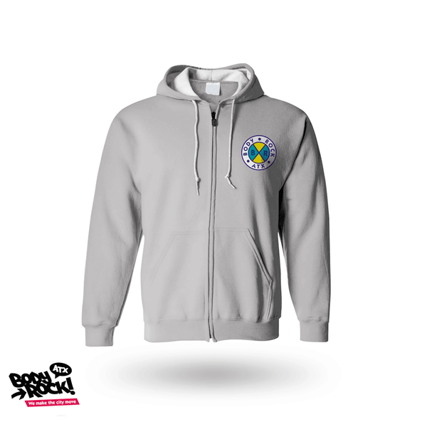 Body Rock ATX: Cross Colors zip up hoodie (Unisex)