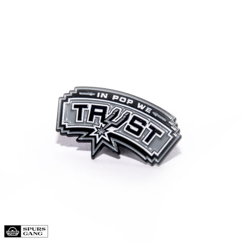 In Pop We Trust Enamel Pin