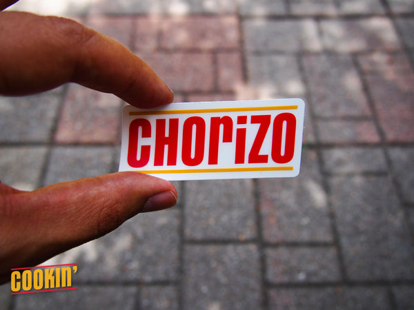Houston Inspired Clear Chorizo Sticker