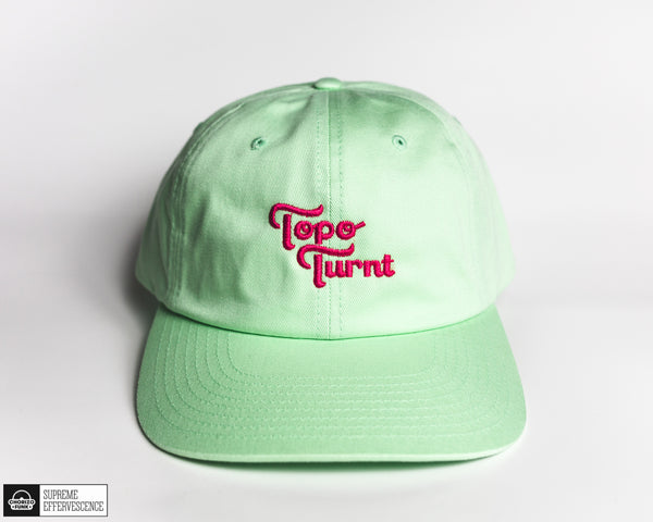 Gelato Lime Topo Turnt Embroidered Dad Hat