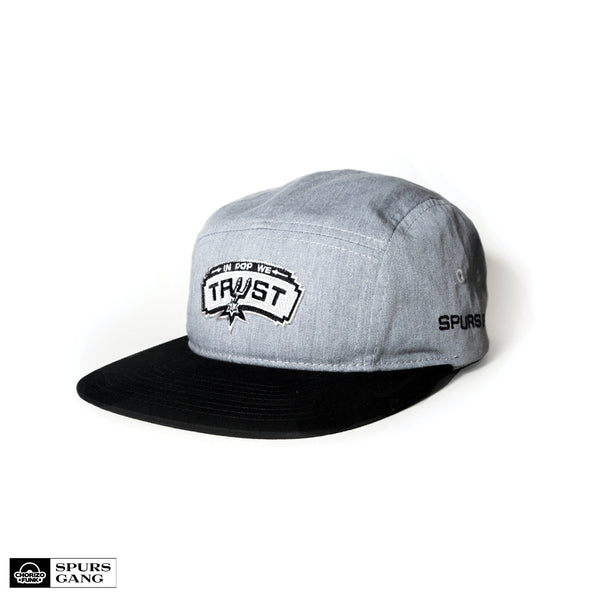 In Pop We Trust 5 Panel Hat (GREY)