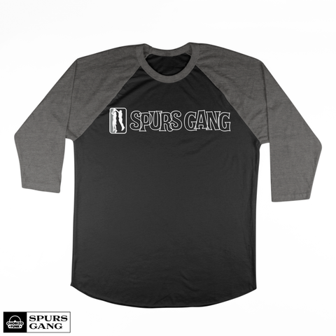 Manu Magic-3/4 Long Sleeve Raglan-Black/Heather