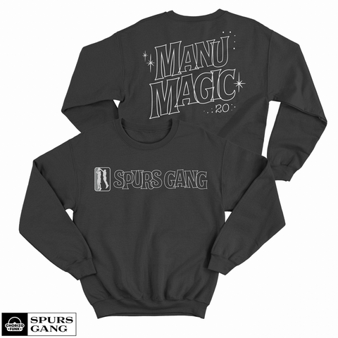 Manu Magic Unisex Fleece Sweatshirt