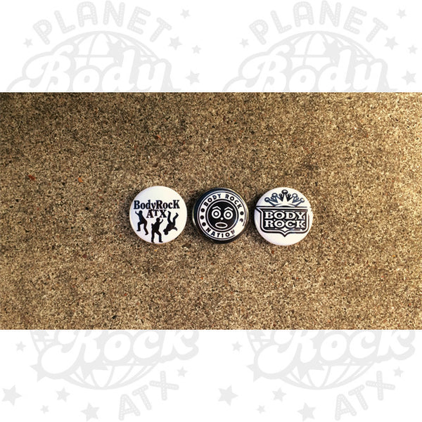Body Rock ATX Logo Flip (Pins)