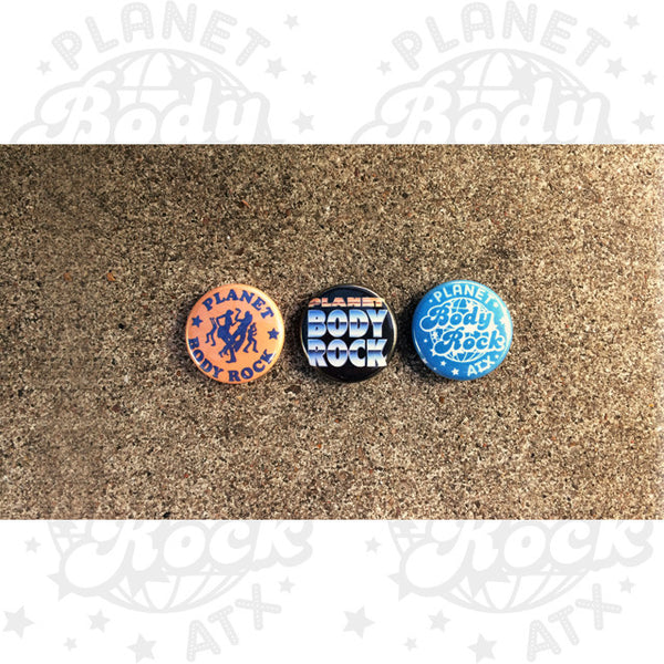 Planet Body Rock Pack (Pins)