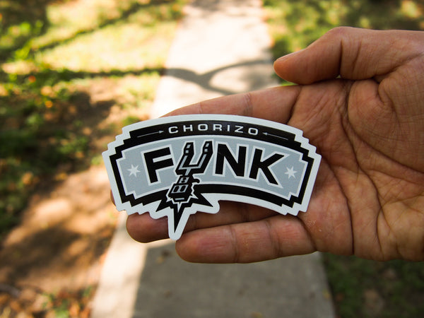 Chorizo Funk-Spurs Stickers