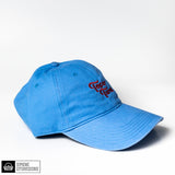 Topo Turnt Embroidered Dad Hat in baby blue