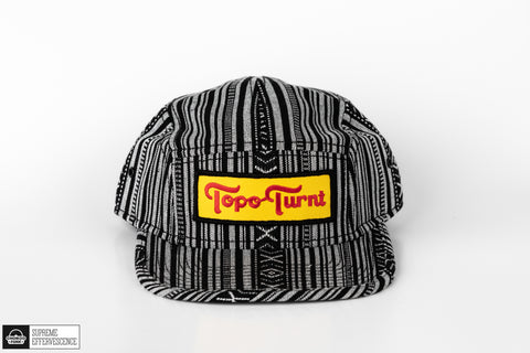 Topo Turnt 5 Panel Aztec Pattern Camper Hat