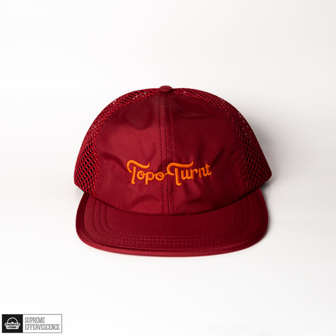 Topo Turnt Ivy Park River Hat with Orange Embroidery
